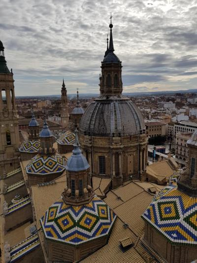 2019年11月 スペイン3都市旅行 サラゴサ観光~マドリードへ移動