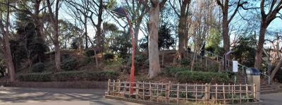 上野恩賜公園2くるっと古墳から西郷像辺り♪
