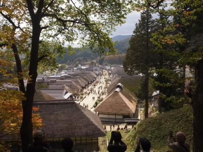 例年の那須温泉と、福島(南会津)の大内宿散策。