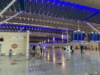 サウジアラビアの旅13・ジッダ新空港とアブダビ~成田