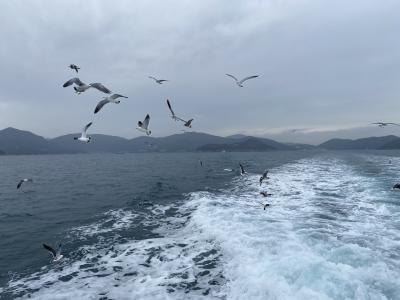 未踏の韓国へ 巨済島から外島へ