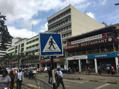 """【現地速報】ロンドン・ナイロビ出張(その18) ナイロビの""""CBD"""" を街歩き!"""