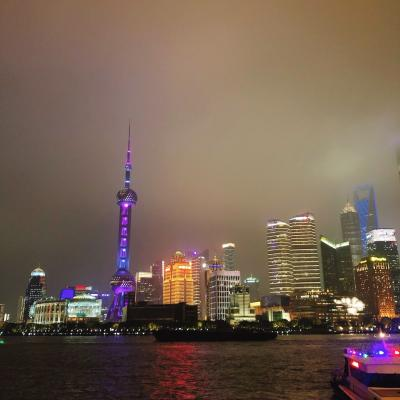 2019~2020 年末年始 上海&上海ディズニーランド ④南京東路 外灘(BUND)