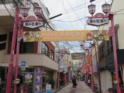 伊豆星野リゾートで癒されたい(10)湯の花通りとキネマ通り。祇園のから揚げ