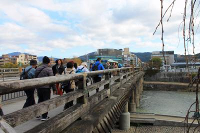 Kオジサンの東海道旅日記 第1日 三条大橋から大津まで