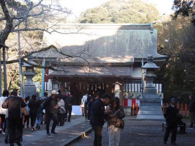 息栖神社に初詣 [2020](1)