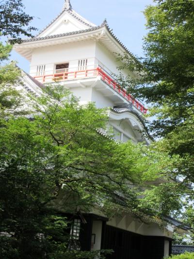 佐竹資料館と久保田城
