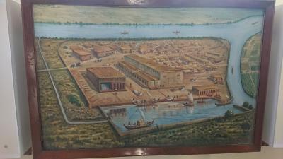 エアーインディアCクラスで行く、インダス文明ロータル遺跡 1