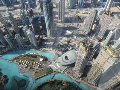 アラブ首長国連邦への旅3(ドバイで世界一ののっぽビルに上がる)