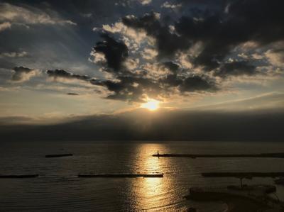 熱海・ミクラス宿泊☆海からの日の出とフランス料理☆
