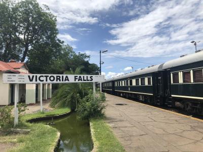 南部アフリカの旅④_ヴィクトリアフォールズ橋&ロボスレールに乗車