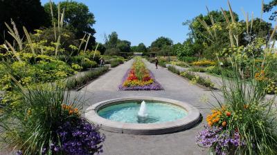 Aug 2019 part 8. 花と緑で夏休みをしめくくる。植物園と噴水公園