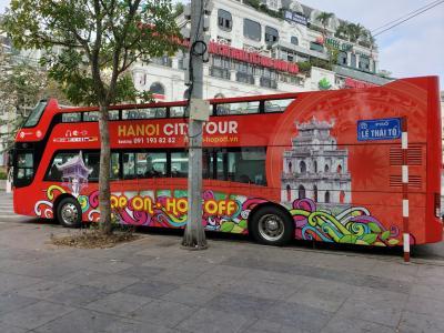 ベトナム ハノイ年末年始旅行その5 ホップオンホップオフバスで巡るハノイ&週末ナイトマーケット