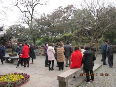 江南周遊(42)清朝邸宅を出て次の公園へ。