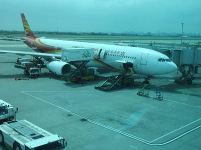 香港航空ビジネスクラス 台北から香港