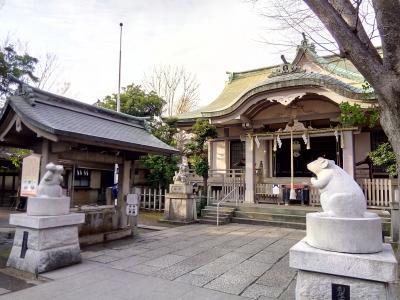 「君の名は。」の神社で年末詣&狛ねずみに会いに初詣 in 四谷&戸部