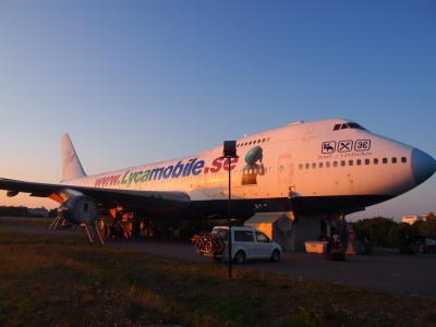 北欧の旅~飛行機に泊まれる!Jumbo Stay @アーランダ空港