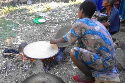 2020新春エチオピアその7〜ナイルの滝とインジェラ焼き体験