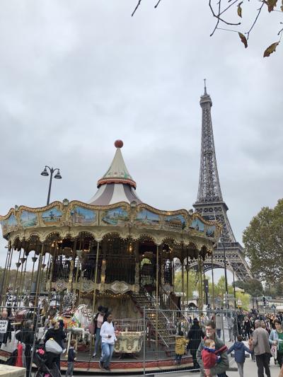 住むように滞在する初めてのパリ一人旅⑥ 6日目~シャンゼリゼ通り・スイーツ・パン巡り ~