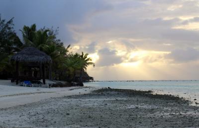 25周年記念 クック諸島 Day5-1(朝、綺麗な場所を探して東へ西へ)