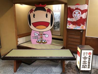 【2020年1月】大江戸温泉物語 幸雲閣に泊まってみた