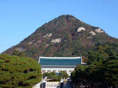 ソウル3泊4日ツアー1(青瓦台を見た)