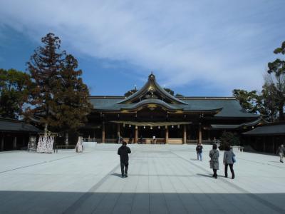 3月の寒川神社