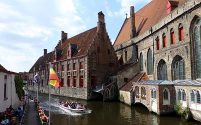 2012夏ベルギーとドイツの旅04:ブルージュ