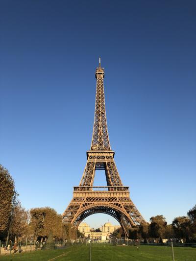 住むように滞在する初めてのパリ一人旅⑨ ~最終日は晴天のエッフェル塔~