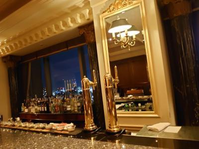 ウェスティン東京の年末年始③、マリオット・プラチナ特典で2軒で「ただ酒」を満喫!