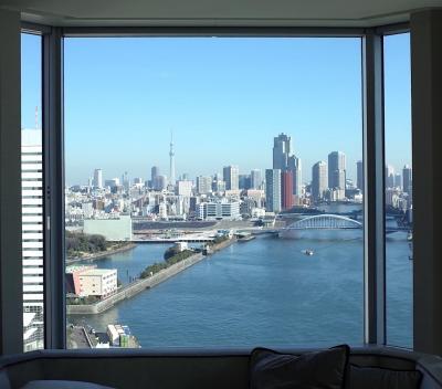 記念日はホテルステイ!インターコンチネンタル東京ベイのクラブフロア プレミアムルームでお祝い♪