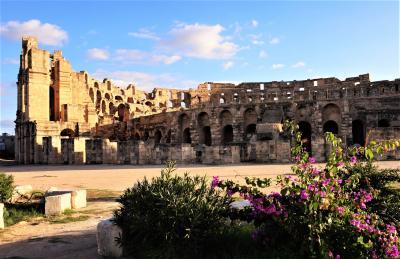 チュニジア周遊とジェルバ島(7)----エル・ジェムとスースとハマメット