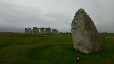 秋のイングランド カントリーサイドを歩く 36 太古の巨石文明 ストーンヘンジ