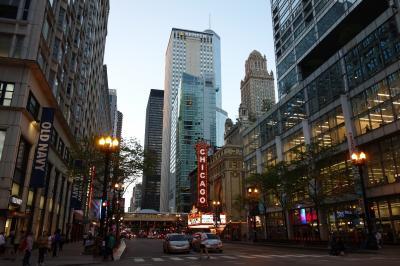 初シカゴでゆっくり暮らすように過ごしました