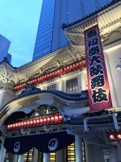 寿初春大歌舞伎夜の部