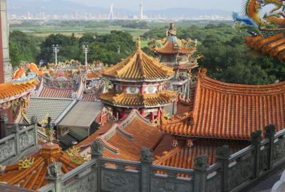 2020新春、台湾旅行記11(7/14):1月7日(6):崖上の関渡宮、しゃぶしゃぶの夕食、台湾総統府