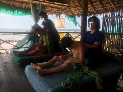 年末カオラック8日間の旅③3日目:Ocean Breeze Resortでまったり過ごす。波の音を聴きながらタイマッサージで癒される。
