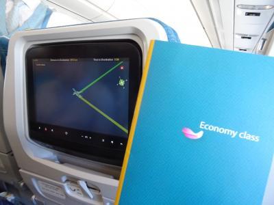 【年末シェムリアップの旅 vol.2】ベトナム航空エコノミークラスに搭乗!アメニティなどを紹介!