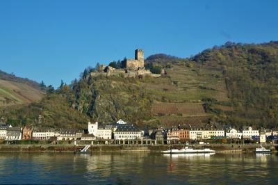 ケルン~フライブルク☆冬曇り、青空、ラインと城を眺めつつ クリスマス市巡りの旅4-2