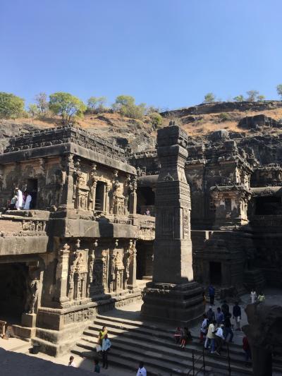 インド 4-エローラ石窟寺院