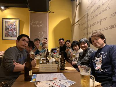 2020年1月12日 冬季一時帰国 元スポーツクラブのメンバーと飲むぞ!編