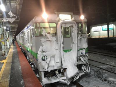 2020年1月北海道鉄道旅行7(室蘭本線に乗って岩見沢経由で札幌へ)