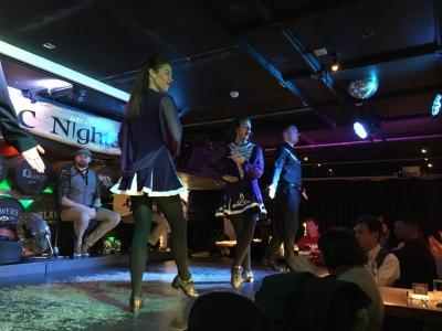 """【現地速報】ロンドン・ナイロビ出張(その51) 13日目-6 おまけのダブリン、一泊だけの夜は """"Celtic Nights"""" へ!"""