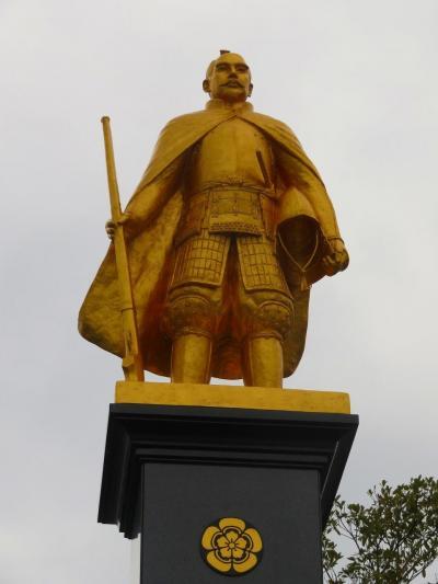 2020 新年帰省-4:リフレッシュした信長黄金像と久々の岐阜駅前を散策