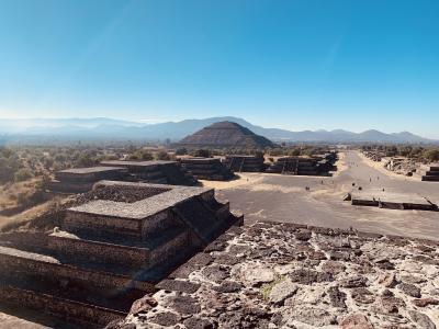 '19-'20年末年始 メキシコ一人旅 3 : テオティワカン遺跡