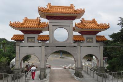 2020新春、台湾旅行記11(9/14):1月8日(1):基隆、基隆中正公園、山門、梵鐘、釈迦弟子蔵、菩薩像