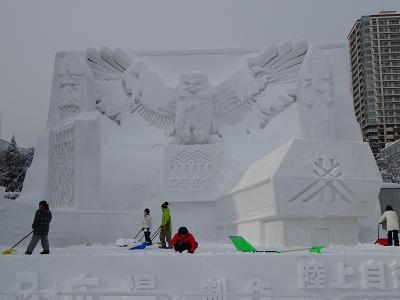 札幌雪まつり(2020 冬の北海道:最終)2.6