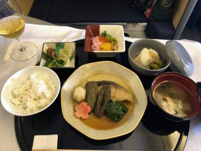機内食シリーズ シカゴ―成田 ☆StarAllianceビジネスクラス世界一周チケット☆