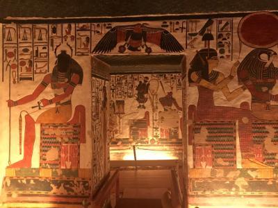 2019〜2020年末年始・エジプト旅行�ルクソール西岸観光