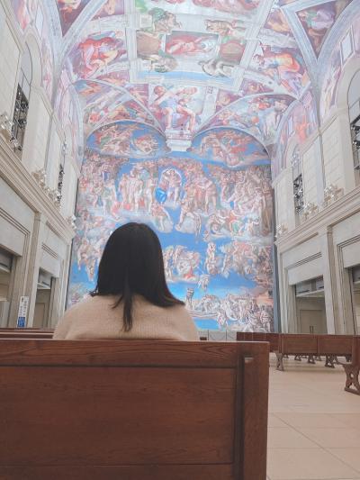 大塚国際美術館で世界の美術館を体感